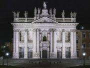 Rome lights up Basilica of St John Lateran