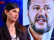 Salvini stages sit-in against Rome mayor