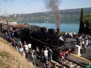 Steam train from Rome to Castel Gandolfo