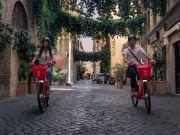 Bike sharing in Rome: Good start for Uber Jump