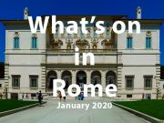 What to do in Rome in January 2020