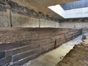 Rome unearths 2,000-year-old timbers from France