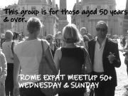 Rome Expat Meetup 50+