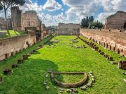 Honey and olive oil on Rome's Palatine Hill