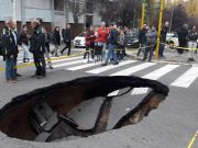 Why sinkholes are opening up on Rome's streets