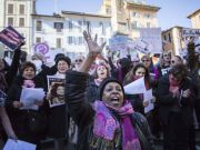 Women's March Rome 2020