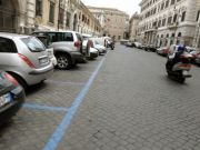 Coronavirus: free parking on Rome streets