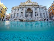 Rome charity missing Trevi Fountain coins