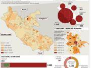 There are 156 Coronavirus free municipalities in the Lazio Region