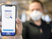 Italy post-lockdown: social distancing, masks and tracking app