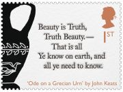 Romantic poets celebrated on stamps