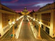 Rome: empty and silent in stunning drone video