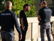 Man killed on river bank in central Rome