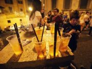 Rome police patrol nightlife districts on first post-lockdown weekend