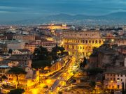 Rome bids slow farewell to sounds of lockdown