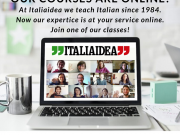 Learn Italian online at Italiaidea