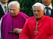 Emeritus Pope Benedict in Germany with sick brother