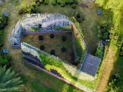 Rome's Living Chapel made from plants and recycled material