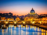 Rome's tourists are Italians right now