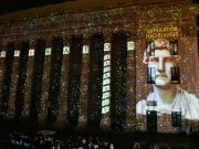 Rome illuminates Temple of Hadrian with free light show