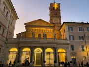 Rome lights up the heart of Trastevere