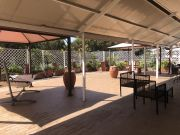 Furnished 3-bedroom flat with TERRACE and community pool and sauna