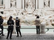Rome: Tourists fined for engraving names at Trevi Fountain