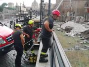 Rome: Tourist rescued after falling into Trajan's Forum
