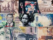 Money go round exhibition at Rosso20sette in Rome