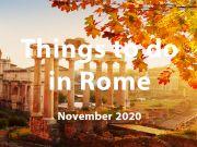 What to do in Rome in November 2020