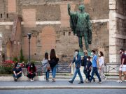 Covid-19 in Italy: Masks set to be obligatory outdoors in Rome amid rise in cases