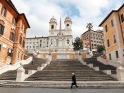 Italy's foreign press recalls lockdown with Rome exhibition