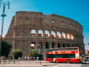 Covid-19: Rome's empty tourist buses to help reduce commuter crowds