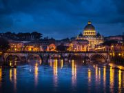 Rome's streets fall silent this Christmas