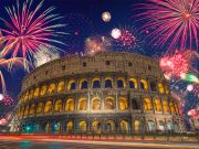 What's happening in Rome on New Year's Eve?