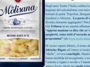 Italian pasta company in hot water over colonial brand