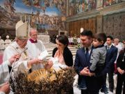 Pope Francis will not baptise babies in Sistine Chapel due to covid-19