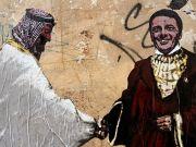 Italy: Rome street art highlights Renzi's links with Saudi Arabia