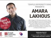 Temple University Rome Presents Author Amara Lakhous