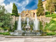 The past and present of Villa D'Este near Rome