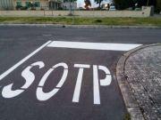 Prepare to Sotp: Sabaudia road sign goes viral