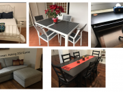 Excellent Condition - Ikea Bed, Dining Set, Couch, Desk, Coffee Table