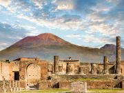 Mount Vesuvius, one of the most dangerous volcanoes in the world