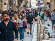 Italy's daily covid-19 deaths at seven-month low