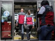 Rome bus ticket inspectors get back on board