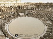 Italy unveils winning floor design for Colosseum arena