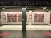 Rome digital library lets commuters read e-books at bus stops