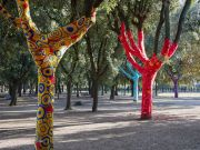 Rome's Villa Borghese park hosts open-air art exhibition