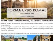 C-ROME   Special Event: Roman Forum, Imperial Forum, Palatine Hill, Colosseum _ Saturday 17 July