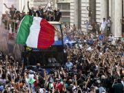Euro 2020: Azzurri open top bus parade in Rome 'not authorised'